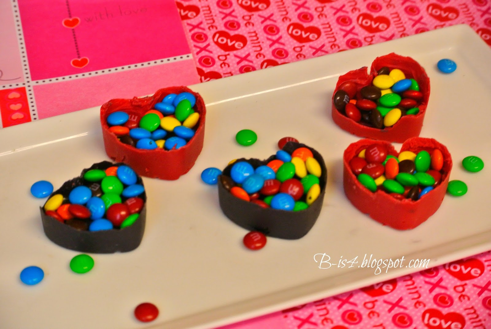 Chocolate, M&M's, Hearts