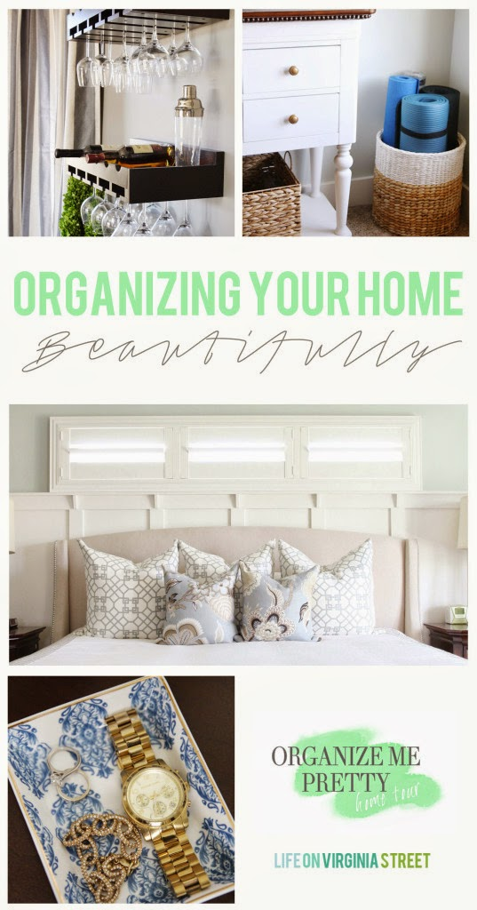Oganizing Your Home Beautifully poster.