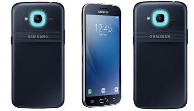 Spesifikasi Samsung Galaxy J2 Pro 2018       Pada bagian otak Galaxy J2 Pro (2018), dibekalkan prosesor quad-core Snapdragon 425 dari Qualcomm. Chipser ini disokong oleh CPU Cortex-A53 dengan speed mencapai 1,4 GHz. Dan sisi grafis ditangani GPU Adreno 308 yang terkenal.Samsung Galaxy J2 Pro (2018) juga menawarkan dukungan memori andal dengan 1,5GB RAM dan sebuah memori internal berkapasitas 16GB yang upgradable hingga 128GB menggunakan slot microSD.  Ponsel ini juga menawarkan dukungan OS Android 7.1 Nougat terbaru sebagai OS bawaan. Dilengkapi pula dengan beberapa fitur khas Samsung dan fitur andalan lainnya.Samsung Galaxy J2 Pro (2017) menawarkan kamera 8MP sebagai kamera utama di bagian punggung ponsel, dan sebuah sensor kamera selfue 5MP f/2.2 lengkap dengan LED Flash.  Tidak cuma itu saja, Samsung Galaxy J2 Pro 2018 ini juga hadir dengan menawarkan konektivitas lengkap. Dimulai dengan dukungan koneksi 4G LTE. Hadir pula fitur lainnya seperti WiFi 802.11, GPS, Bluetooth v4.2, dan tidak lupa microUSB v2.0 dengan dukungan USB OTG.Samsung J2 Pro (2018) juga dibekali baterai 2600 mAh. Kabar baiknya adalah bahwa baterai ponsel ini dibuat removeable. Jadi jika ada masalah yang mengharuskan ponsel dimatikan darurat, lebih mudah mengatasinya di Galaxy J2 Pro (2018).   Kelebihan Telah support Jarin