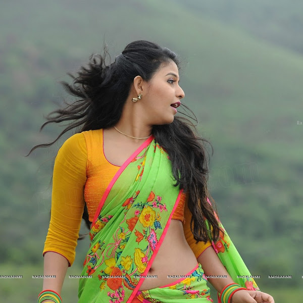 Anjali latest hot photos in saree