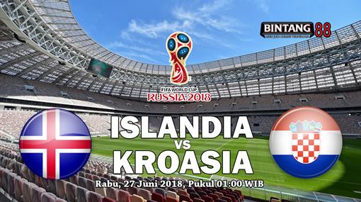 Prediksi  islandia vs kroasia 27 Juni 2018