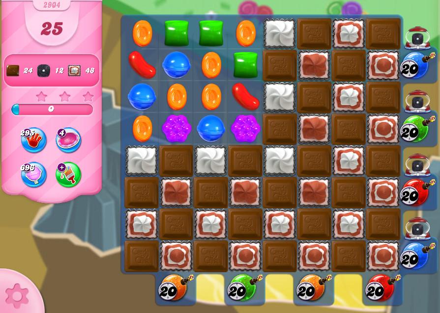 Candy Crush Saga level 2904