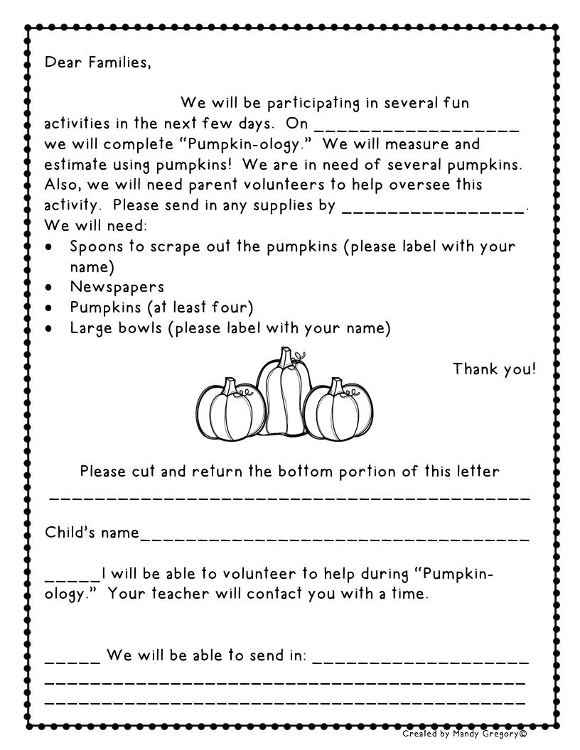 Pumpkin Math Freebies! - Mandy's Tips for Teachers