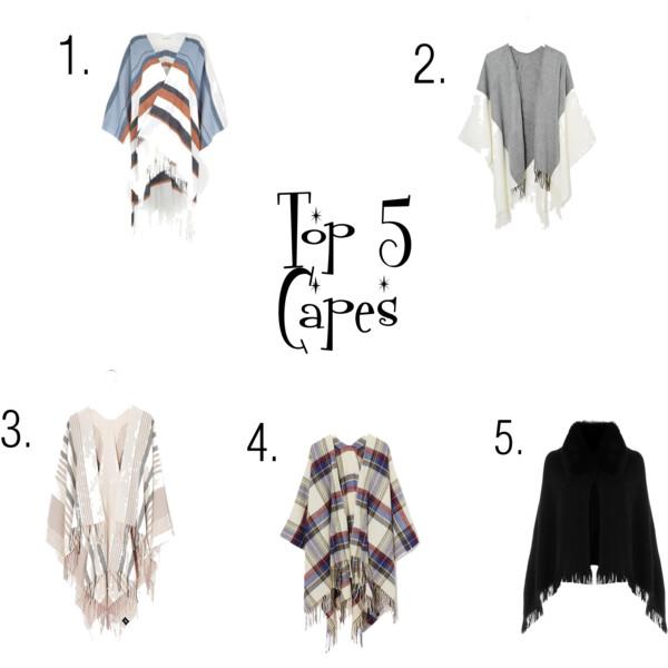 Top 5 capes
