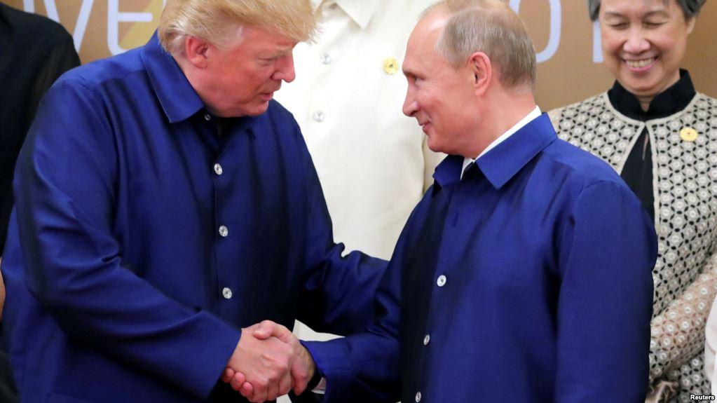 Pese a breve encuentro no hay agenda prevista entre ambos líderes mundiales