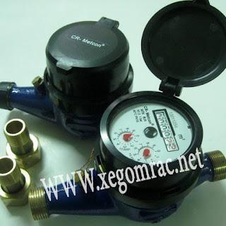 Sản phẩm đồng hồ nước hiệu Contor-Metcon của công ty Làng Rùa phân phối
