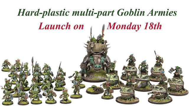 Goblins Kickstarter (Hard Plastic from Shieldwolf Minaitures)