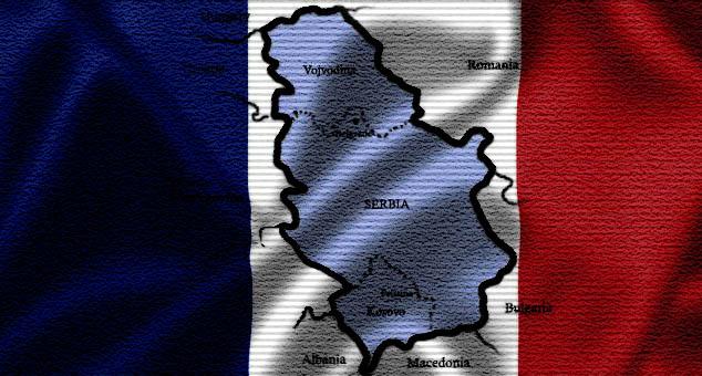 #Kosovo #Metohija #Srbija #Francuska #Separatisti