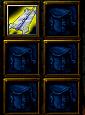 Naruto Castle Defense 6.0 item Seven star sword
