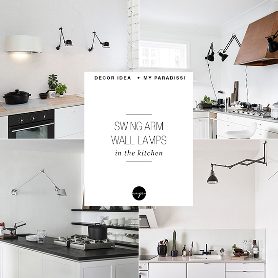 Swing arm lamps in the kitchen my paradissi aloadofball Image collections