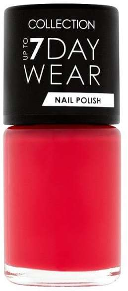 Collection up to 7 day wear nail polish in Lady in Red