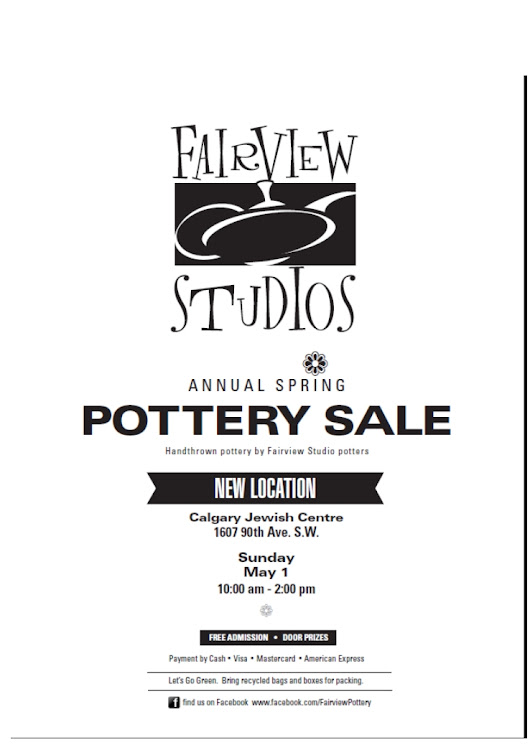 Fairview Studios - Spring 2016 Pottery Sale