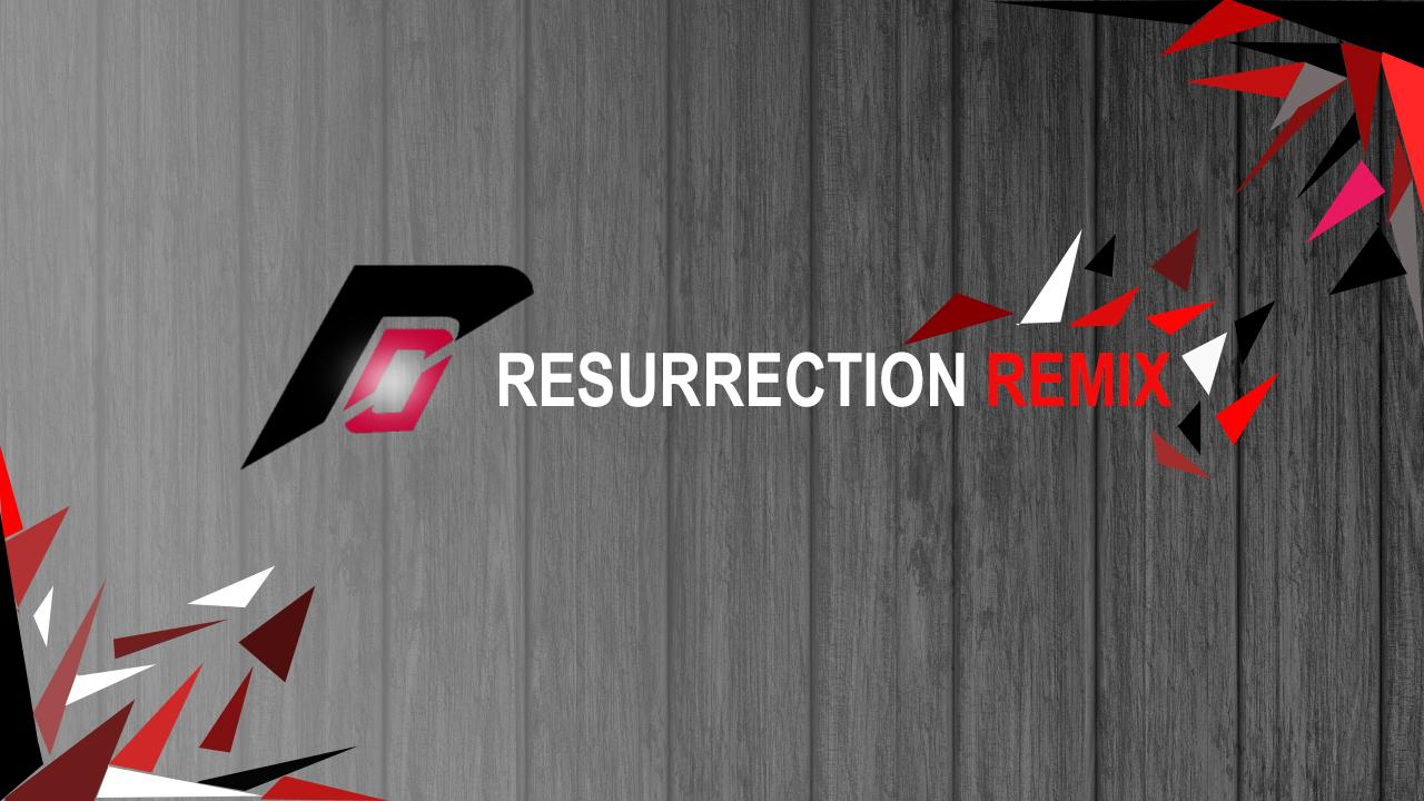 Resurrection Remix 5 8 3 [Android Nougat 7 1 2] Custom ROM for