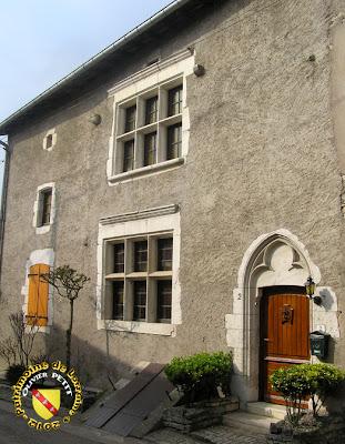 PULLIGNY (54) - Maison Pierret (XVe)