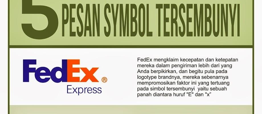 5 logo dengan pesan tersembunyi