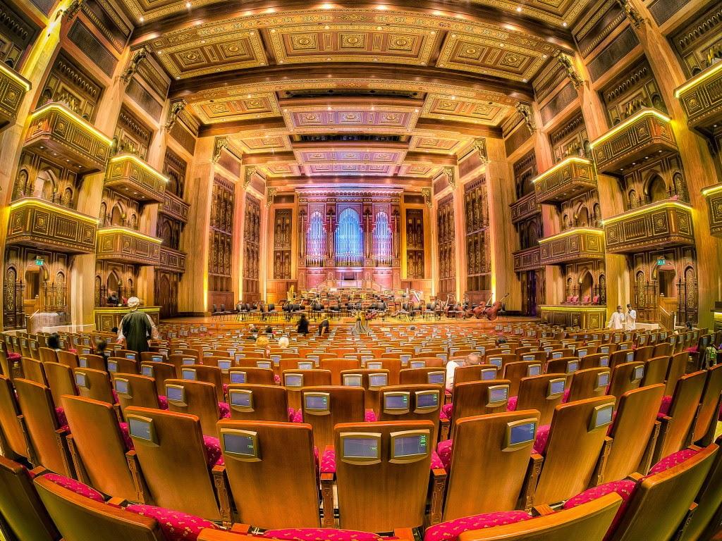 Opera House Muscat Restaurants