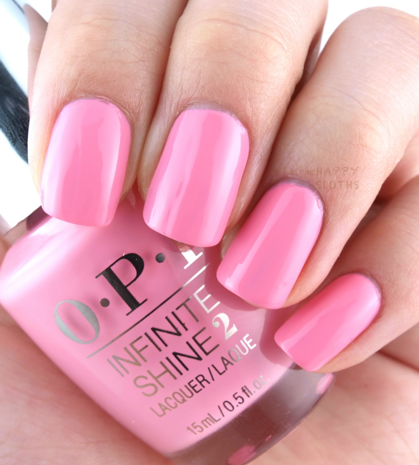 OPI Infinite Shine Spring 2016 Collection Swatches