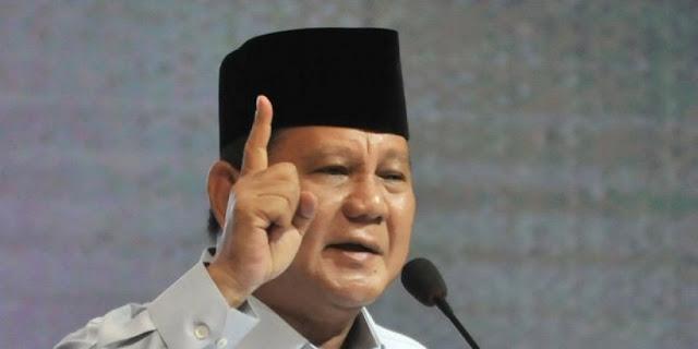Prabowo Tak Gentar Hadapi Serangan Isu Khilafah
