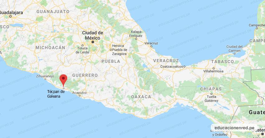 Temblor en México de Magnitud 4.0 (Hoy Viernes 20 Septiembre 2019) Sismo - Epicentro - Técpan de Galeana - Guerrero - GRO. - SSN - www.ssn.unam.mx