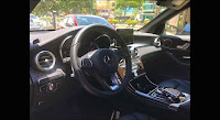 Mercedes GLC 200 2019 đã qua sử dụng nội thất màu Đen
