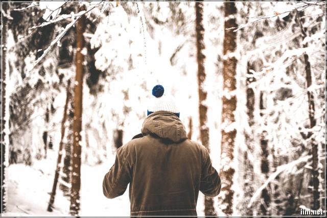 một mình anh dưới trời đông