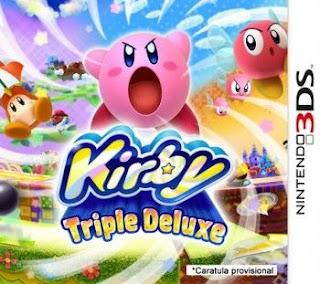 Kirby Triple Deluxe, 3ds, Español