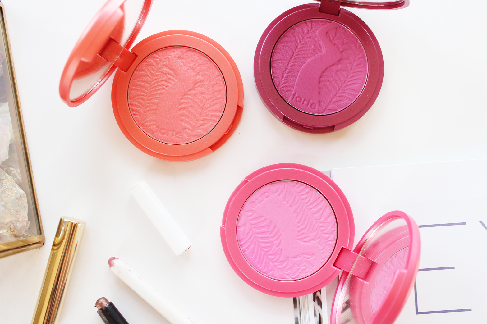 MOST LOVED | April '15 - Tarte Amazonian Clay 12-hour Blushes - CassandraMyee