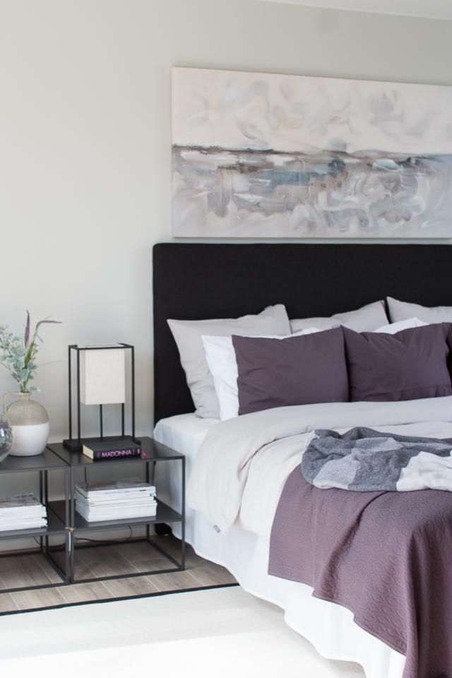 asuntomessut, design-talo pala, makuuhuone