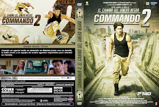 CARATULA COMMANDO 2: EL CAMINO DEL DINERO NEGRO - COMMANDO 2: THE BLACK MONEY TRAIL - 2017