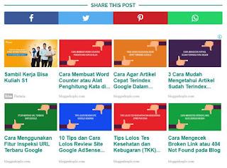 Penempatan Iklan Adsense yang Strategis Untuk Menaikkan CTR