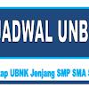 Jadwal UNBK SMP SMA SMK Tahun Pelajaran 2018/2019