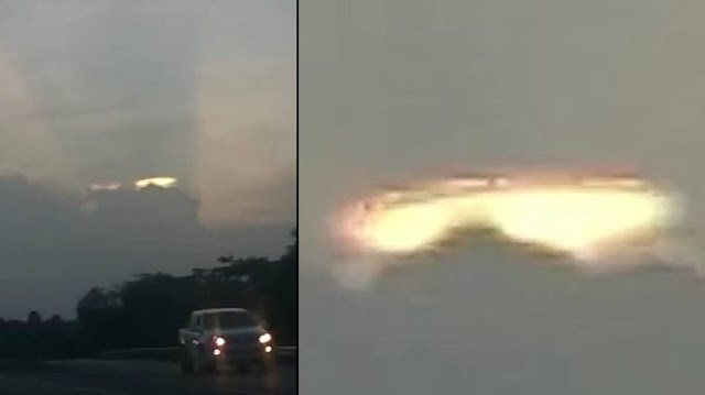 UFO becomes visible in the sky over Jamaica Cloaked%2BUFO%2Bflying%2Bsaucer%2B%25281%2529