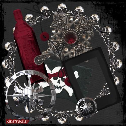 Elementos PNG - Estilo Pirata
