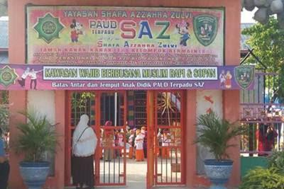 Lowongan Kerja Pekanbaru : TK Shafa Azzahra Zulvi Juli 2017