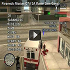 GTA SA Master Save Game - Paramedic Mission