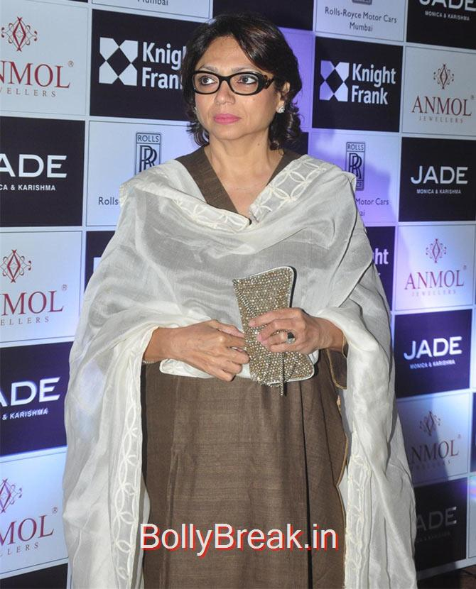 Bela Sehgal, Divya Khosla Kumar, Tisca Chopra at a fashion show