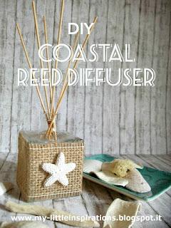 Diffusore per ambienti Coastal con juta e stella marina - MLI