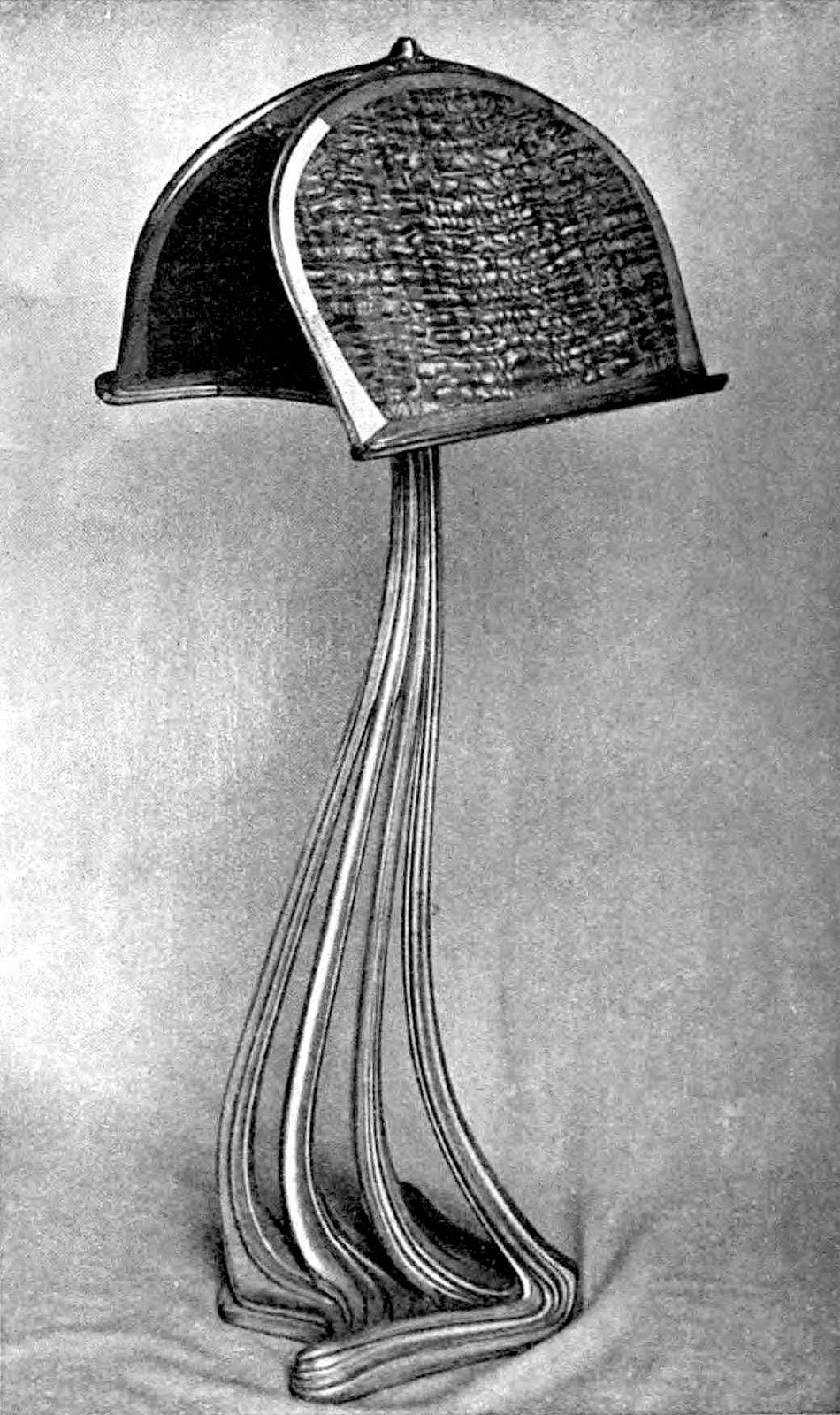 photograph of 1851 metal and wood music stand