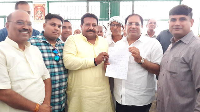 Memorandum handed over to industry minister on insult of Brahmins in JE recruitment exam
