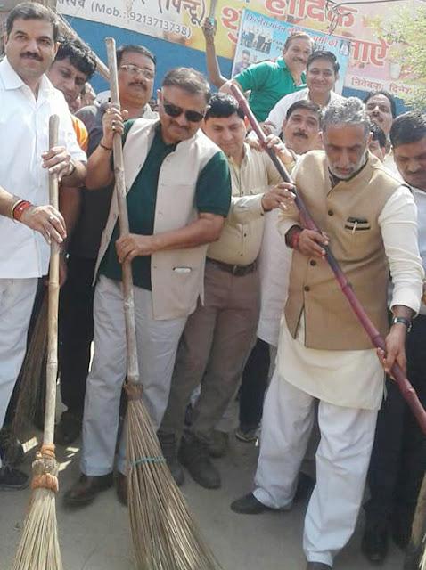 clean-drive-tilpat-village-faridabad