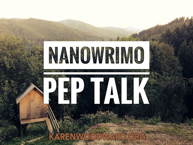 NaNoWriMo Pep Talk
