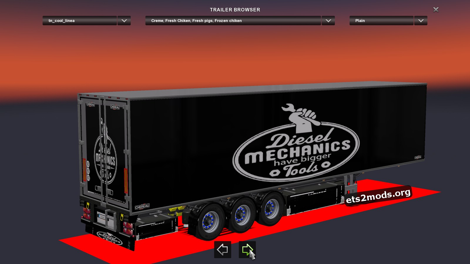Standalone Trailer Diesel Mechanics