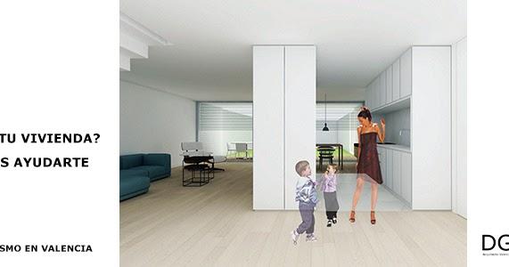 Proyectos de vivienda unifamiliar dg arquitecto valencia - Trabajo arquitecto valencia ...