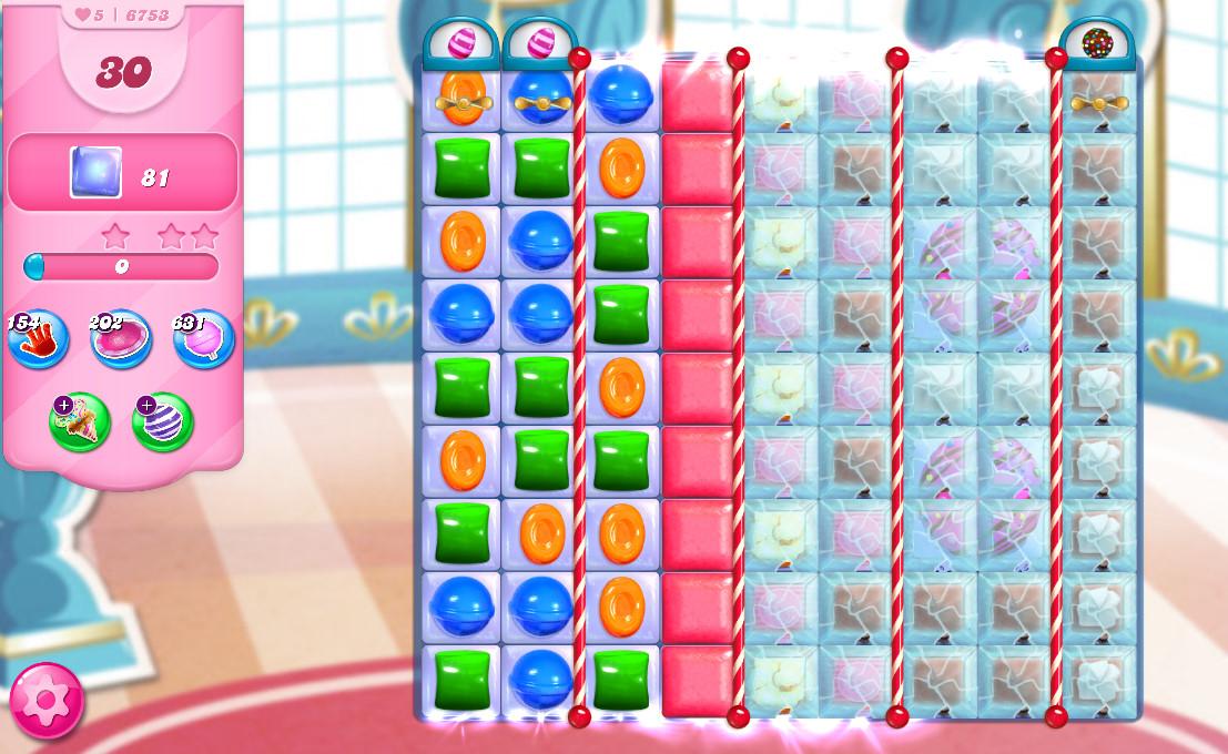 Candy Crush Saga level 6753