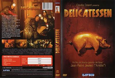 Cover, caratula, dvd: Delicatessen | 1991