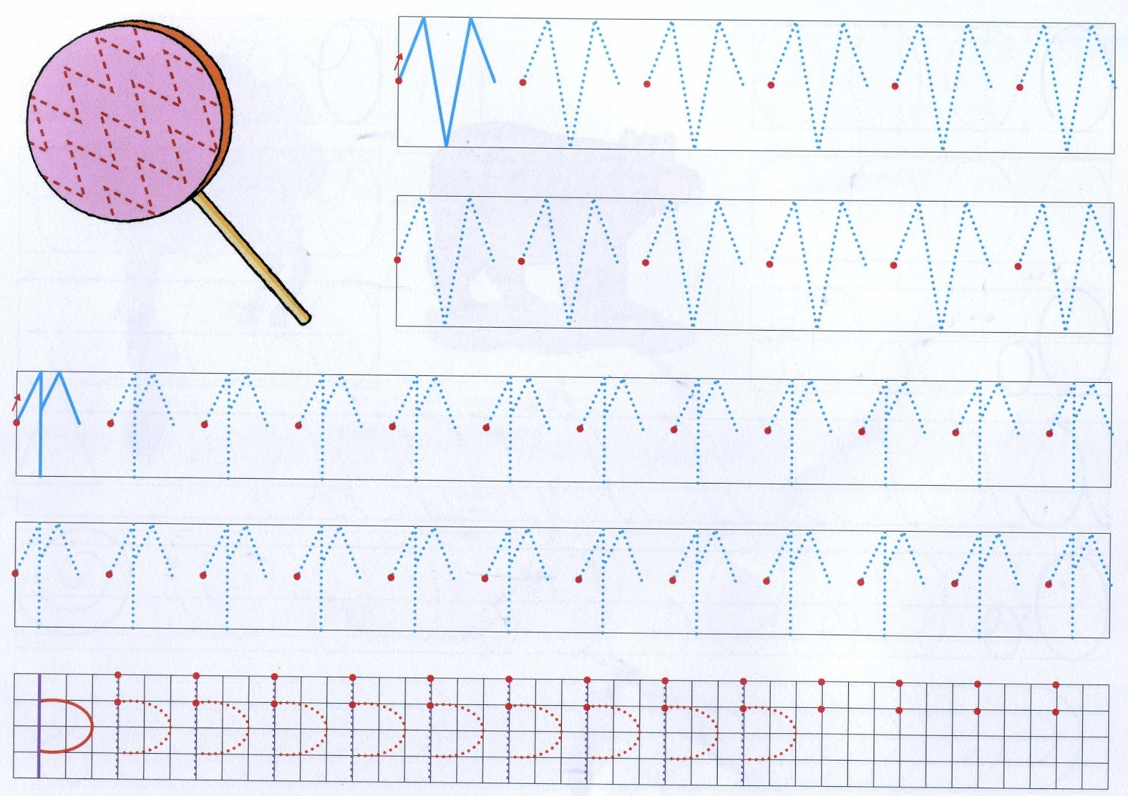 Educating Tracing Lines Worksheets