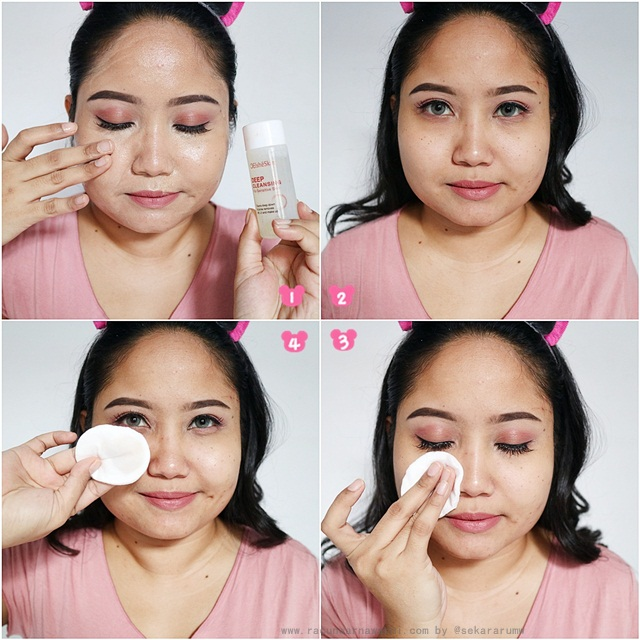 Langkah-langkah Menghapus Make Up