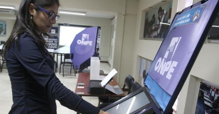 ONPE asistirá elecciones del Colegio Médico del Perú con voto no presencial - www.onpe.gob.pe