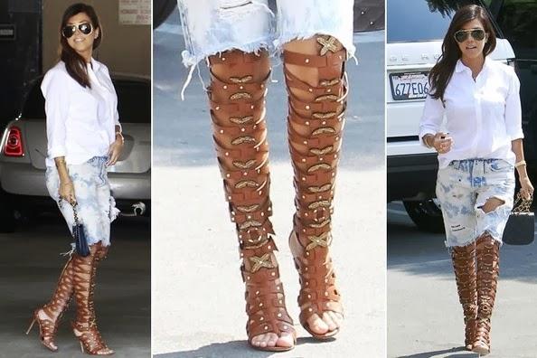 Fashion And Whatever I Like Kourtney Kardashian Was Out