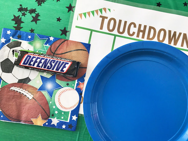 Football Themed Printable Placemat